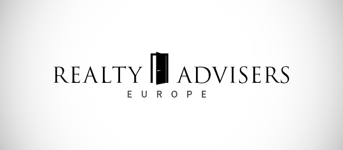Realty Advisers Europe Logo Design