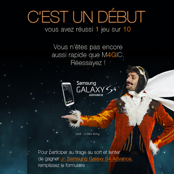 Orange Magic Noël 4G